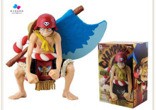 Kissen Anime One Piece Film GOLD Monkey D Luffy Axe Ver.13cm PVC Action Figure Resin Collection Model Toy Gifts Cosplay