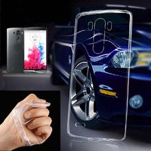 Ultra-thin 0.3mm Protective Transparent Clear Gel Soft TPU Phone Case Cover Skin for LG G2 G3 G4 Cell Phone Back Cover Case