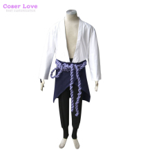Naruto: Shippuden Uchiha Sasuke Cosplay Costume New years Christmas Costume 'Can't be customized'(China)