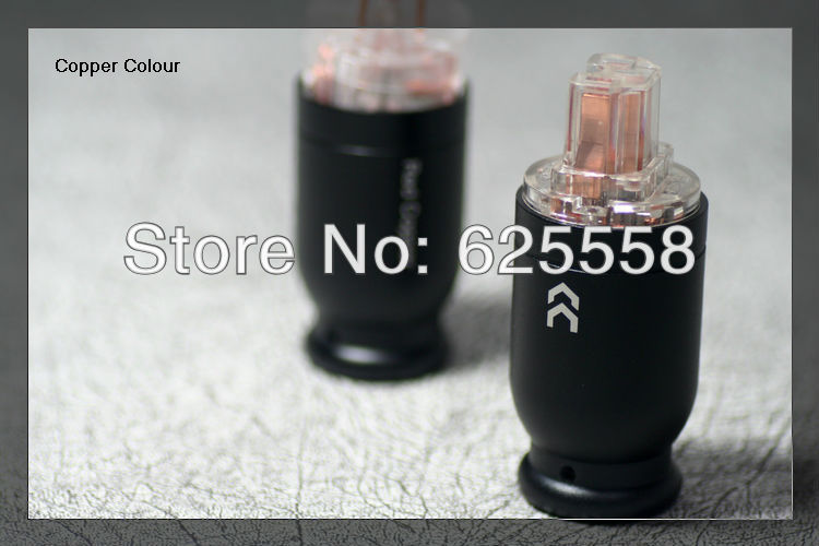 Alloy Series -126 Pure Red Copper Hi-End US Male / female AC power Plug<br>