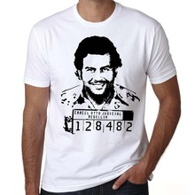 summer men shirt Gangster, pablo escobar t shirt, Colombian Drugs shipping,weed, mafia, scareface, Luciano, Money, Capon tshirt