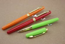 3 Colors U Pick Genuine Metal Eternal life Fountain Pen Business Executive  Pen as Luxury gift Office school