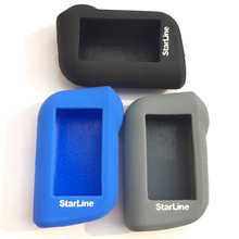 Silicone rubber Case Cover For Starline A93 A63 car alarm Remote controller Only Starline A93 A63 Silicone Case Keychain Cover