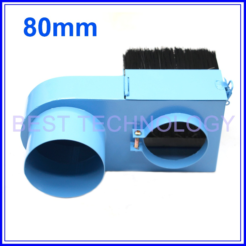 80mm spindle motor dustproof diameter 80mm CNC Rounter Vacuum Cleaner Spindle Dust Cover protection for CNC woodworking machine<br><br>Aliexpress