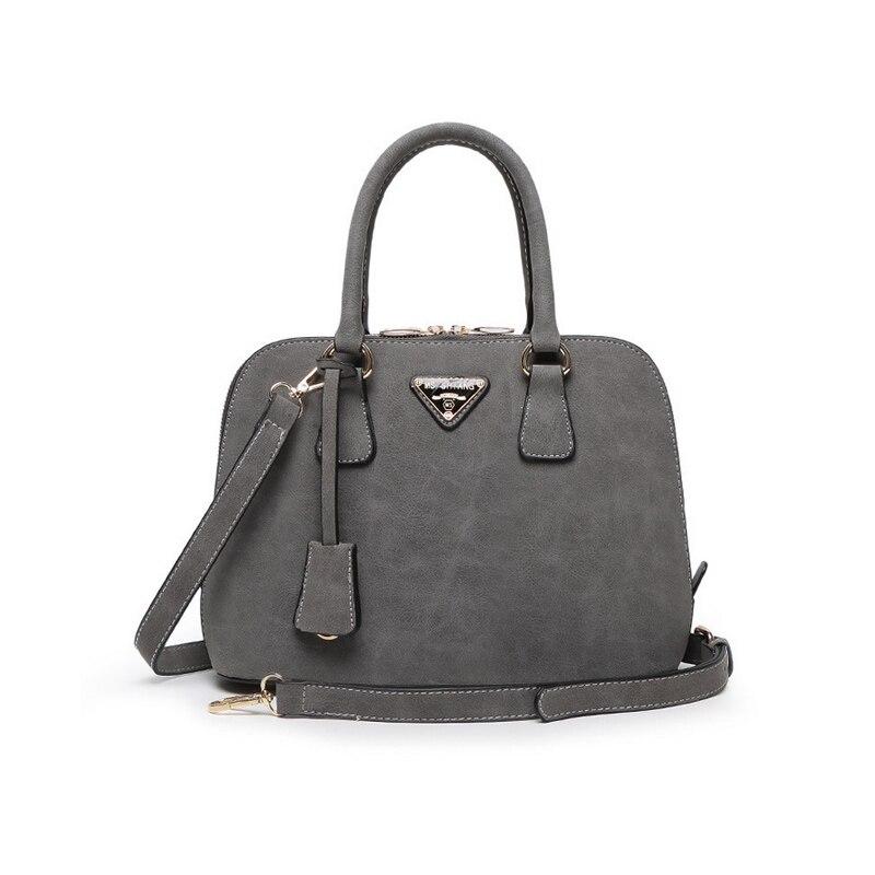 High Quality Nubuck Leather Luxury Brand Designer Women 2017 Office Lady Top-handle Bag Vintage Shoulder Messenger Crossbody Bag<br><br>Aliexpress