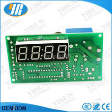 4 digits LED screen Time Controlling Timer Board for coin acceptor selector water pump washing machines massage chairs chargers(China)
