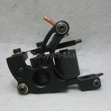 New Professional Tattoo Machine 10 Warp Coil Black Tattoo Gun For Beginner Shader Liner GAM14-A#(China)
