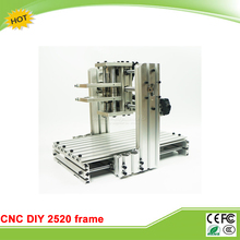 DIY CNC machine 2520 Base frame kit  for wood router engraving no tax to EU