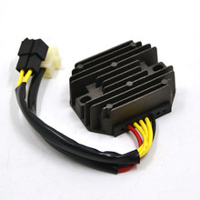 Motorcycle Metal Voltage Regulator Rectifier Motorbike For Suzuki DR250 1990-1995 DR350 1990-1999 SV650 1999-2002 LS650 Savage(China)