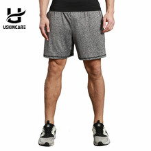 USKINCARE Running Shorts Men Sport Loose Short Breathable Fitness Running Gym Trousers Male Sportswear