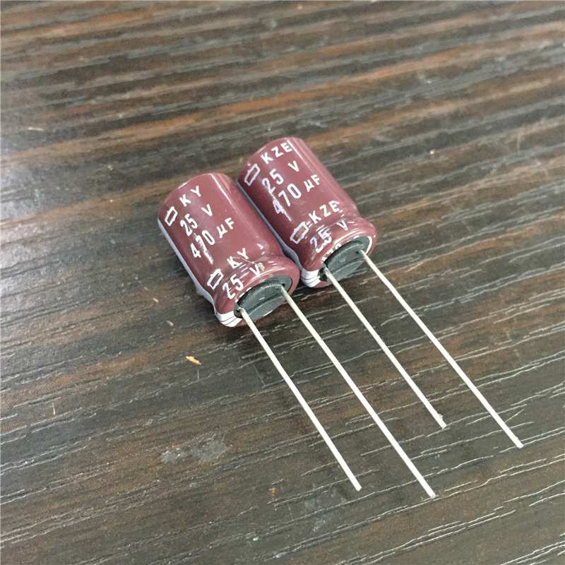 15 Pcs Nippon ChemiCon NCC KZH Series 16V 470UF Ultra Low impedance Capacitor