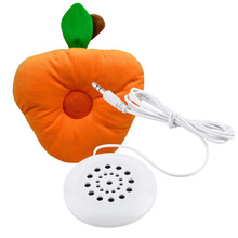 Mini Speaker Earphone White 3.5mm Pillow Headphone for Sleeping  for iPodHot Selling for MP3 MP4 Player