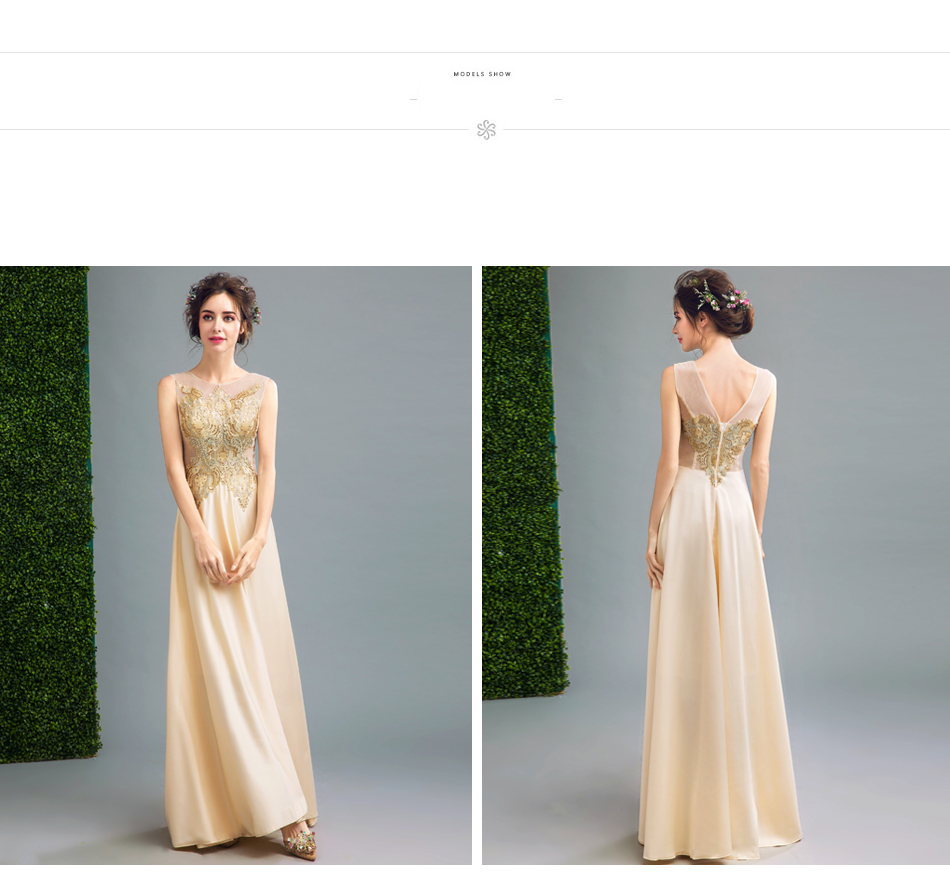 Angel Wedding Dress Marriage Evening Bride Party Prom Bridal Gown Vestido De Noiva Noble qualities, champagne, gold 2017 251 15
