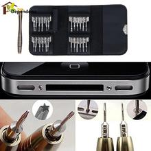 25 in 1 Opening Repair Tools Kit Screwdriver Set for iPhone 6 5 iPad Samsung Cellphone PC Camera Watch Electronics