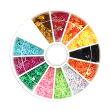 Wholesale Acrylic Nail Phototherapy A Nail Pierced Love Five-Pointed Star Love Sequined Plum Rhinestones For Nails Tools