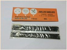 jewelry Double Sword saw blade, 5# sawblade ,bow saws ,Jeweler Tools,Cutting blade for bow saw 1 bag=144pcs(China)