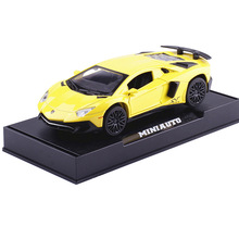 1:32 Kids Toys for Lamborghini Diecast Metal Sports Car Toys Simulation Alloy Sports Car Model Miniatures Gift For Boy Children