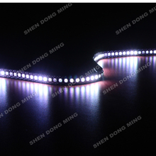 white/black PCB WS2812 led pixel strip changeable color RGB digital led strip DC5V flexible led 50M 144led/m 144IC/m built-in IC