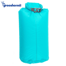 Green Hermit 3L Outdoor PVC Waterproof Dry Bags Ultralight Camping Hiking Dry Organizers Drifting Kayaking Swimming Bags OD1103(China)