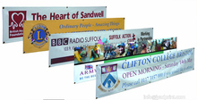 Outdoor Vinyl Banner Advertising Vinyl Banner with free shipping(China)