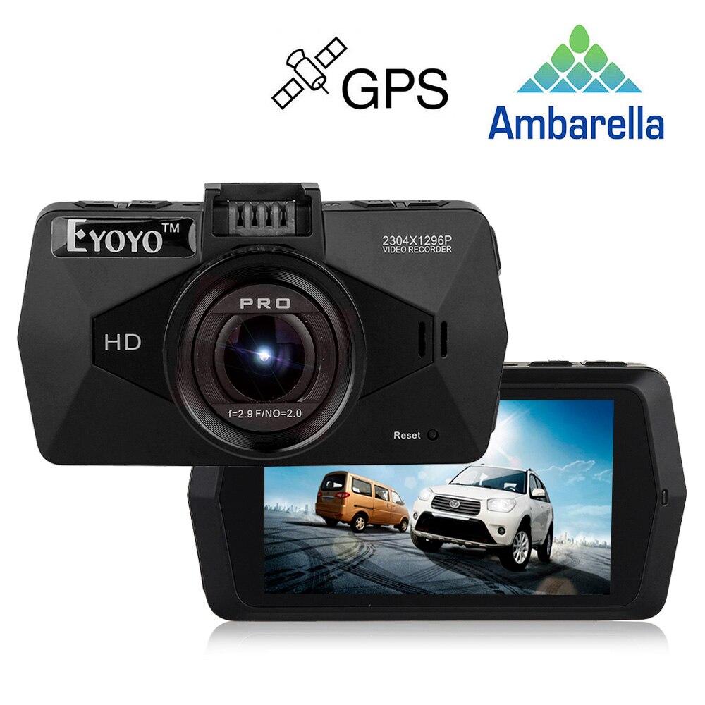 Free Ship! Ambarella A7LA70 Car DVRs dash Camera A7810 Car DVR 1296P Camcorder LDWS Video Recorder Dashcam with GPS Optional CPL<br><br>Aliexpress