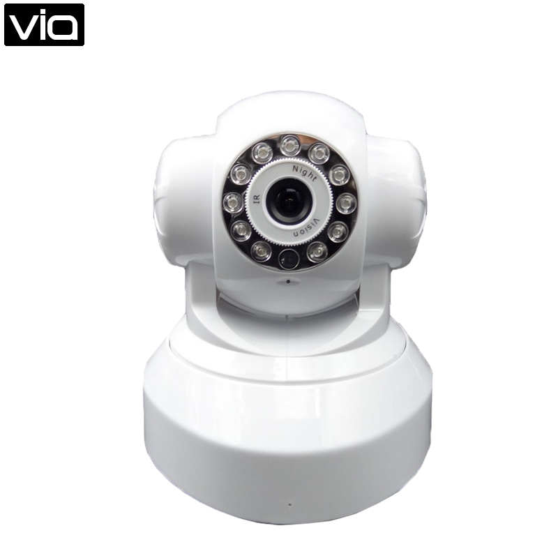 VIA HS-5100-HD Free Shipping Wireless Monitor 720p HD P2P Surveillance Cameras Alarm Camera System<br>