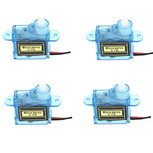 4PCS New Micro 3.7g Mini Servo for Control Aeromodelling aircraft flight direction H301