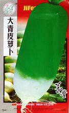 Vegetable seeds Big Green Tangerine Peel Radish Seeds Very Brittle Fresh Scent Water more than 10 g/bag.