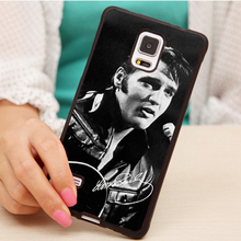 Elvis Presley signed popular Printed Soft Rubber Mobile Phone Cases For Samsung S3 S4 S5 S6 S7 edge plus Note 2 3 4 5 Back Cover