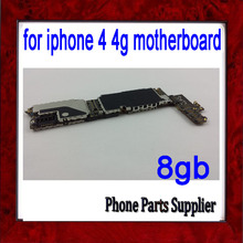 8gb for iphone 4 4g Mainboard,Original Unlocked & Good quality for iphone 4 Motherboard with Chips,Free Shipping