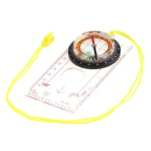 Camping Directional Cross-country Race Hiking Special Compass Baseplate Ruler Map Scale Compass