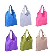 Newly Folding Reusable Shopping Storage Bag waterproof Pouch Shoulder Tote Handbag portable Grocery Bag #641888(China)