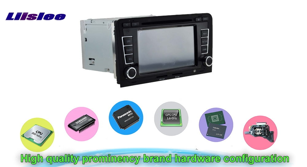 For AUDI A3 Car Multimedia TV DVD GPS Radio Original Style Navigation Android Advanced Navi Hardware configuration