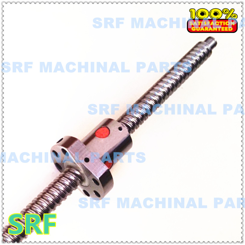 1pcs 16mm Rolled Ballscrew SFU1610 L=750mm+1pcs SFU1610 single ball nut with BK/BF12 end machined<br><br>Aliexpress