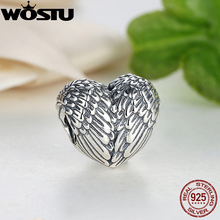 2017 New Arrival 925 Sterling Silver Angelic Feathers Charm Fit Original Pandora Bracelet Necklace Authentic Jewelry