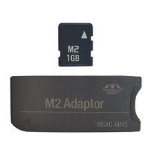 1GB 2GB 4GB M2 card with Adapter into Memory Stick Card Memory Stick Micro with M2 adaptor
