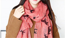 Free shipping New Design fashion animal print scarf Hot sale women winter Horse scarf big size 180*100 voile scarf(China)