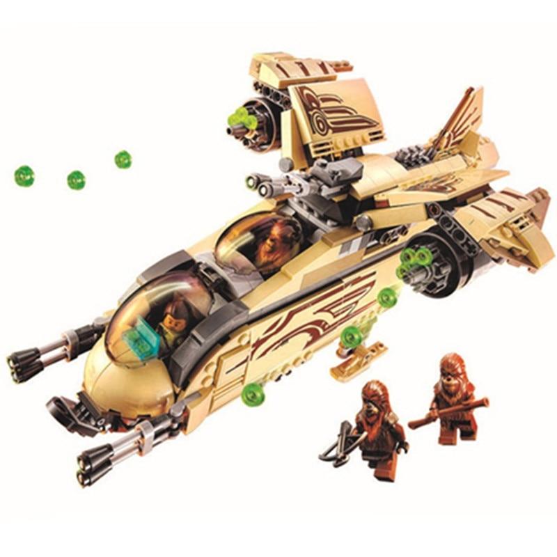 569Pcs Star Wars Wookiee Gunship Fighter Building Blocks Toys For Children Star Wars sunship Fighter Boys Birthday Gift 75084<br><br>Aliexpress