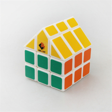 TiSe Cubetwist 10 Choose Third-order House Cube Magic Cube Kids Gifts Yellow Roof Puzzle Cube Children's Toy Figures Brinquedos