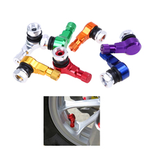 Aluminum Universal Car Tyre Air Valve Caps Bicycle Tire Valve Cap Car Wheel Cover Styling Car Auto SUV Wheel Tire Tyre Valves