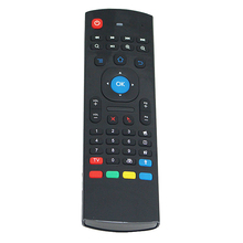 2.4GHz IR Wireless Remote Control Air Mouse Wireless Flying Double Keyboard Microphone for XBMC Android Mini PC TV Box Smart TV