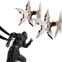 Home Wall Coat Hook Metal Hanger Novelty Decor Star Dart Shape Ninja Cool Stainless Steel Clothes Supplies