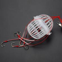 HOT Carbon Steel + Plastics Carp Fishing Hook Sea Monster with Six Strong Spherical Fishing Hooks Tackle Tool