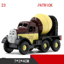 Thomas& Friends-Patrick Locomotive Diecast Metal Train Toy Toy Magnetic Models Toys For Kids Children Xmas Gifts(China)