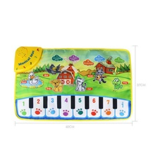 2017 Baby Musical Carpet Children Play Mat baby Piano Music Gift Baby Educational Mat Electronic Gifts Toys for kids