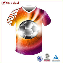 Free shipping wholesale 2015-16 sublimation new design soccer shirts