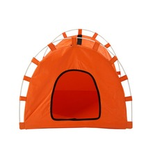 Foldable Dogs Cats Tent House Pets All Seasons Dirt-resistant Outdoor Camping Home Travel House Pet Tent
