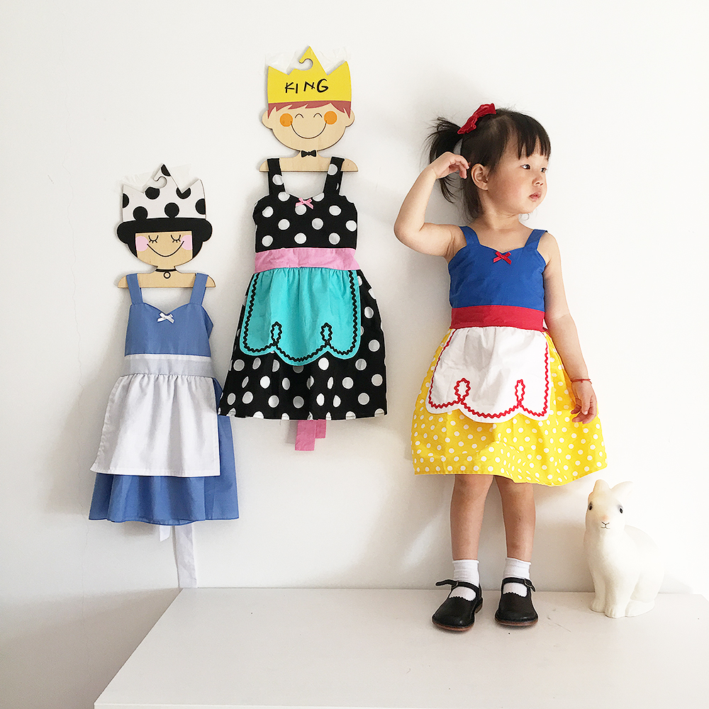 Top quality 2017 New Summer Ins Baby Girl Alice snow White Princess Dress Dot Cut cotton kids Clothes Formal dress for 1-8Y<br>
