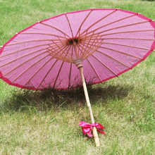 [ Fly Eagle ]100PCS JAPANESE L40cm WHITE PARASOL UMBRELLA CHINESE FANCY WEDDING WOMEN PARTY FREE SHIPPING
