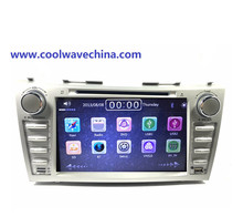 Camry radio gps 2din navigation dvd player for T oyota Camry 2007 2008 2009 2011with Bluetooth Radio USB SD Free map camera